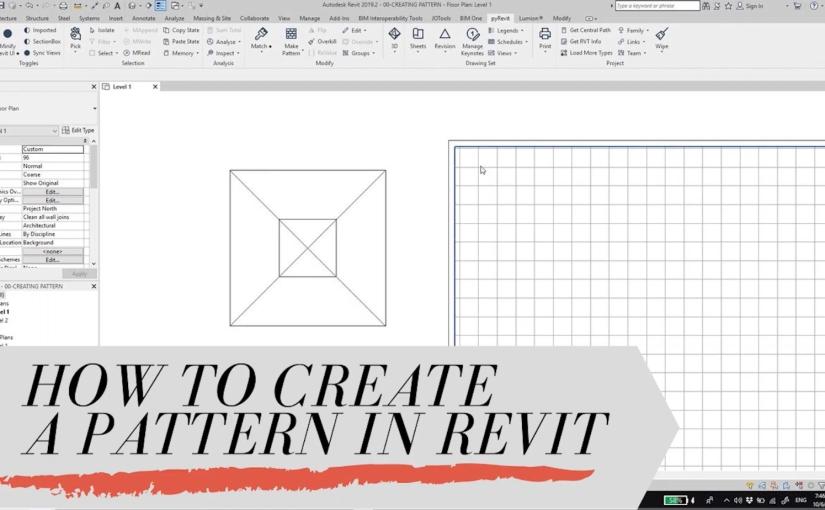 วิธีสร้าง Pattern ในRevit