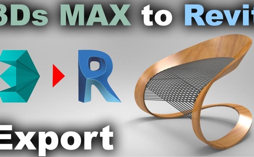 วิธีแปลงโมเดล 3dsmax มาใช้ใน RevitFamily