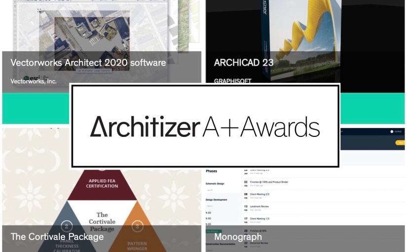 ArchiCAD 23 ถูกเสนอชื่อชิงรางวัล Architizer A+ Popular Choice Awards หัวข้อ Software and DigitalTools