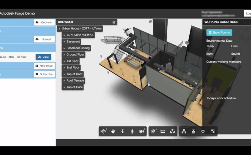 BIM, Autodesk Forge กับการใช้IoT