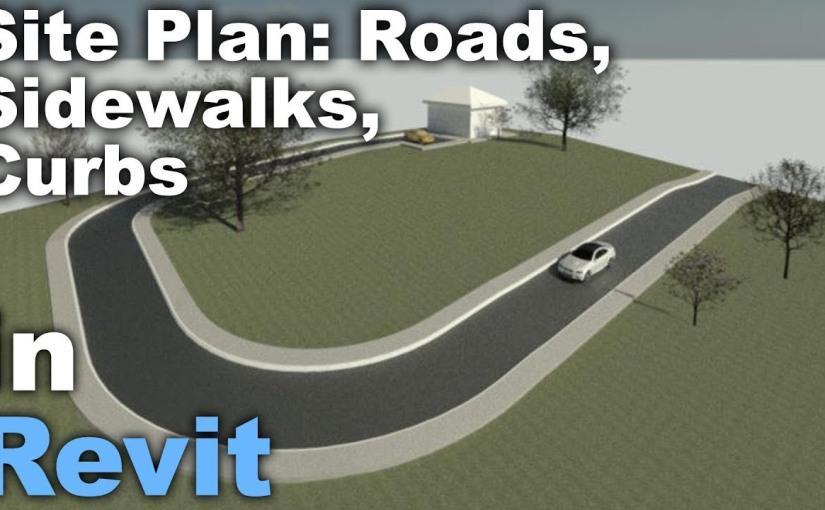 ทำถนนบนพื้น Contour ด้วยRevit