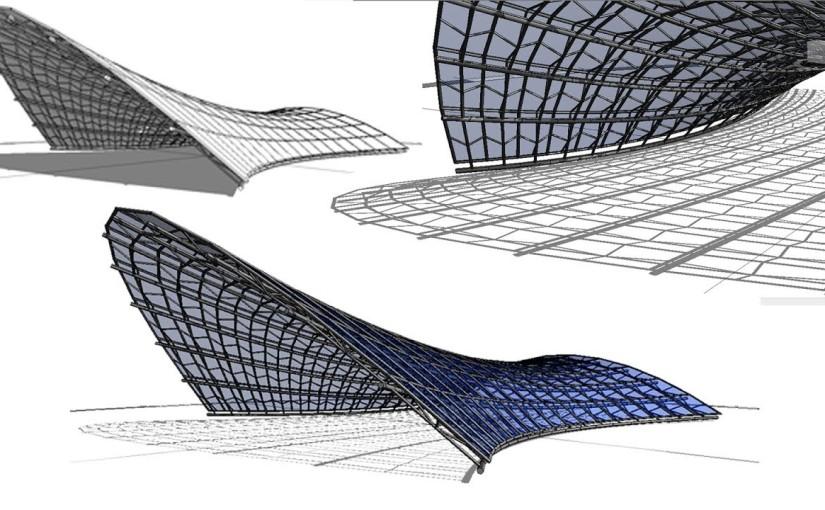 ใช้ Revit สร้างโครงสร้างแบบ Tensileขั้นเทพ